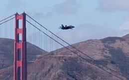 De Blauwe engelen van het Eskader van de Demonstratie van de Marine van de V.S. Stock Afbeelding