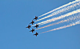 De Blauwe Engelen van Seafair Stock Fotografie