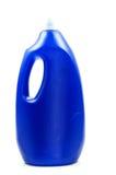 De blauwe fles van de wateropslag Royalty-vrije Stock Foto's