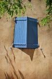 De blauwe gekleurde blinden van de lavendel Stock Foto