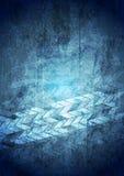 De blauwe geometrische achtergrond van grungetechnologie vector illustratie