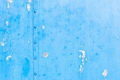 De blauwe grungy achtergrond van de staaltextuur Stock Afbeelding