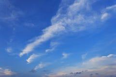 De Blauwe hemel stock afbeelding