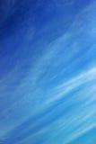 De blauwe hemel Royalty-vrije Stock Fotografie