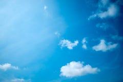 De blauwe hemel is behandeld Royalty-vrije Stock Foto