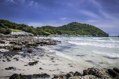 De blauwe hemel van de Baai van de aard Stock Fotografie