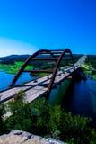 360 de blauwe hemel van de brug pennybacker brug Royalty-vrije Stock Afbeelding