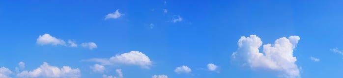 De blauwe hemel van het landschap Stock Afbeelding