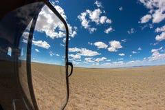 De blauwe hemel van Mongolië Royalty-vrije Stock Foto's