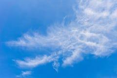 De blauwe hemelachtergrond Stock Foto