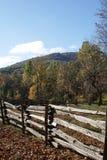 De blauwe Herfst van de Rand stock foto's