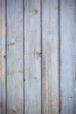 De blauwe houten achtergrond van de plankenoppervlakte stock afbeelding