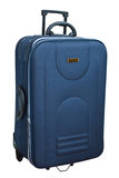 De blauwe koffer royalty-vrije stock fotografie