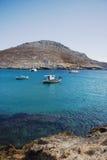 De blauwe lagune Royalty-vrije Stock Afbeelding