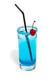De blauwe lagune van de cocktail Royalty-vrije Stock Foto