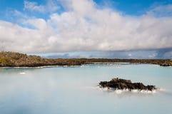 De Blauwe Lagune van IJsland Royalty-vrije Stock Fotografie