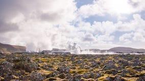 De Blauwe Lagune van IJsland Royalty-vrije Stock Afbeeldingen
