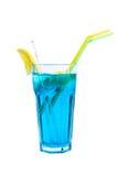 De Blauwe Lagunecocktail Stock Afbeeldingen