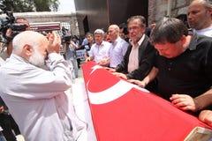 De blauwe Martelaren van Marmara Stock Foto's