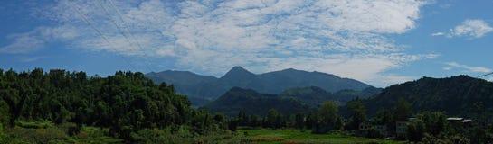 Mooi landschap in Yaan royalty-vrije stock afbeeldingen
