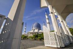 De blauwe Moskee Royalty-vrije Stock Afbeeldingen
