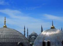 De blauwe Moskee in Istanboel Royalty-vrije Stock Afbeeldingen
