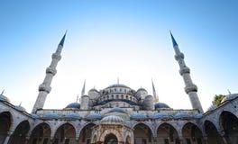 De blauwe Moskee, Istanboel - Turkije royalty-vrije stock afbeeldingen