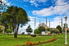 De blauwe Moskee, Istanboel, Turkije royalty-vrije stock fotografie