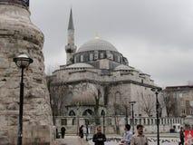 De blauwe Moskee in Istanboel, Turkije Royalty-vrije Stock Fotografie