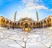 De Blauwe Moskee, Sultanahmet Camii, Istanboel, Turkije Royalty-vrije Stock Fotografie