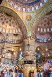 De Blauwe moskee van Istanboel Stock Afbeelding