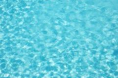 De blauwe patttern golf van het Water Stock Foto's