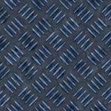 De blauwe Plaat van de Diamant Royalty-vrije Stock Foto