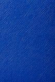 De blauwe in reliëf gemaakte achtergrond van de leertextuur Stock Foto's