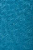 De blauwe in reliëf gemaakte achtergrond van de leertextuur Stock Afbeelding