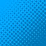De blauwe retro grappige achtergrond van de boekpagina Halftone effect royalty-vrije illustratie