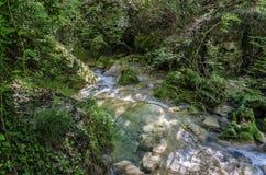 De blauwe rivier Royalty-vrije Stock Afbeeldingen