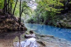 De blauwe rivier Royalty-vrije Stock Foto