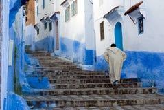De blauwe stad van Chefchaouen Royalty-vrije Stock Foto