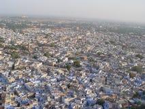 De Blauwe Stad van Jodhpur Stock Foto's