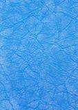 De blauwe stof van de textuur Stock Afbeelding