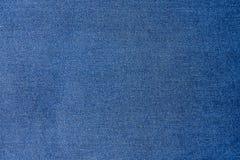 De de blauwe textuur en achtergrond van denimjean Royalty-vrije Stock Fotografie