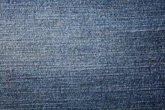 De de blauwe textuur en achtergrond van denimjeans Manier abstract achtergrond of patroon Stock Afbeeldingen