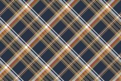 De blauwe textuur van de controle diagonale naadloze stof royalty-vrije illustratie