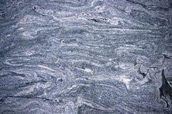 De blauwe textuur van de granietsteen Stock Afbeeldingen
