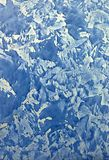 De blauwe textuur van de ontwerpverf Royalty-vrije Stock Foto's