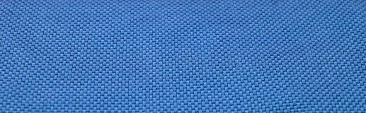 De blauwe Textuur van de Stof Stock Afbeeldingen