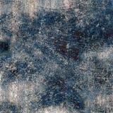 De blauwe textuur van Grunge Stock Afbeeldingen