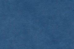 De blauwe textuur van het kleurenleer Royalty-vrije Stock Fotografie