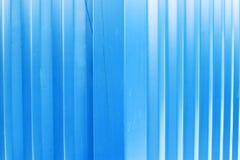 De blauwe Textuur van het Metaal Stock Afbeelding